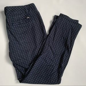 Tommy Hilfiger geo print chino ankle pants